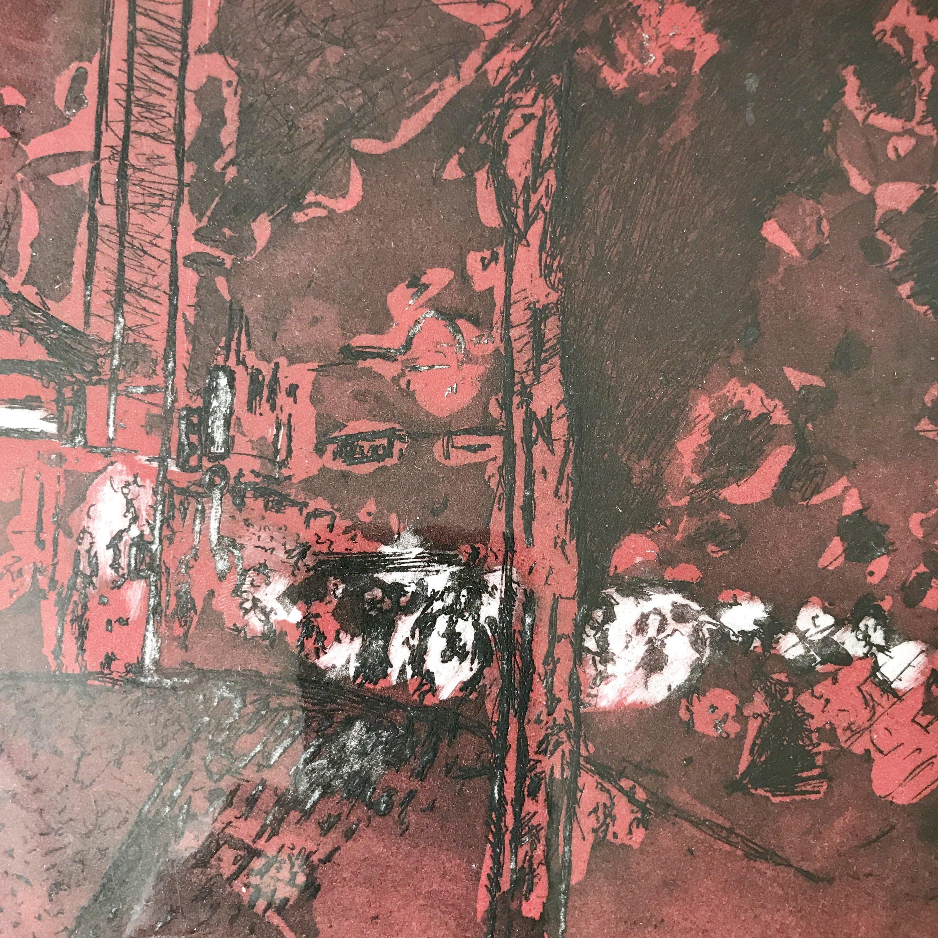 etching, 38x48 cm
