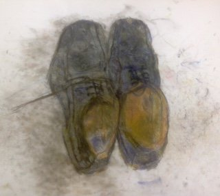 worn out , old shoes
