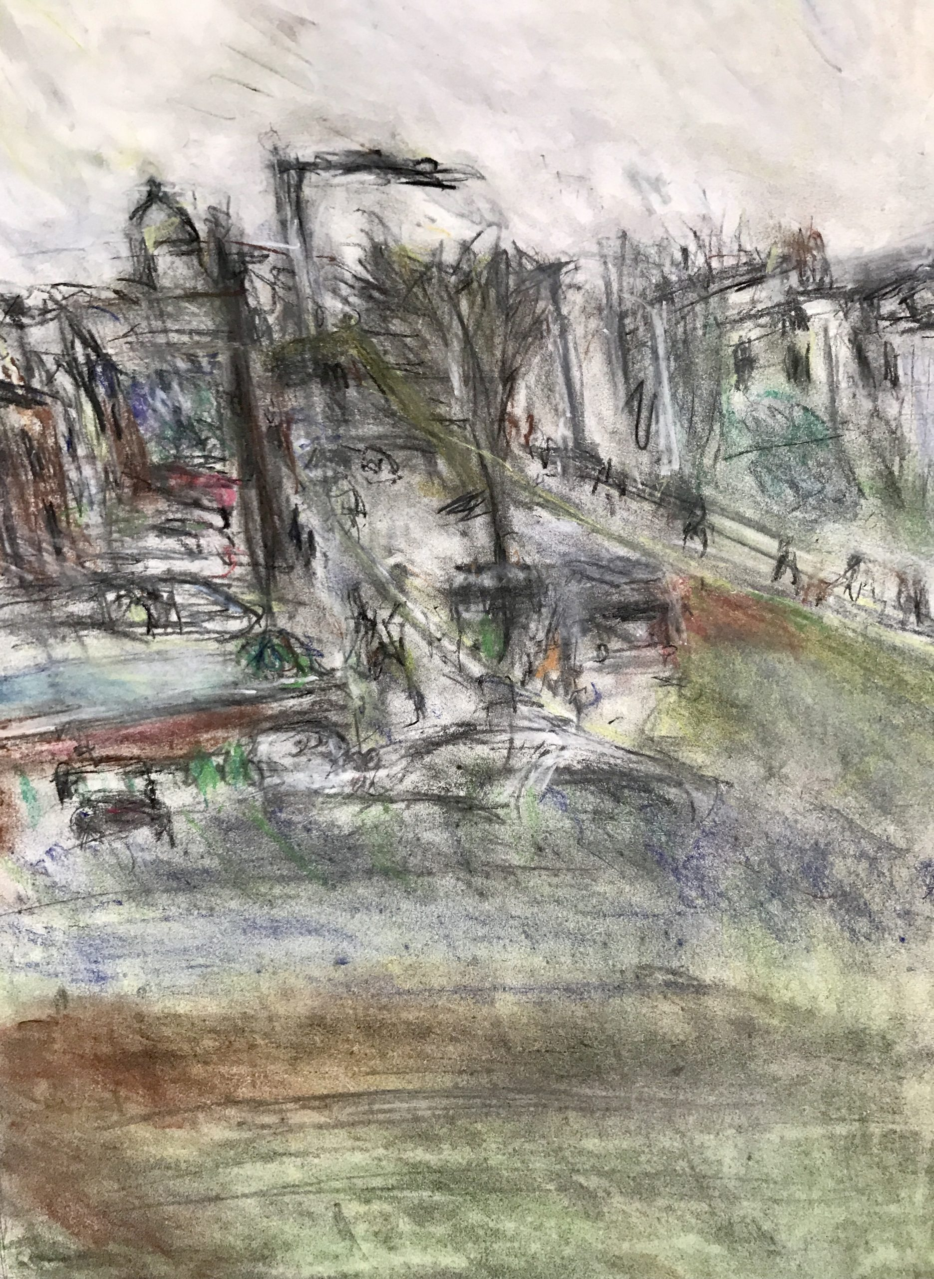 drawing from my window